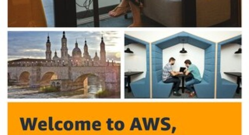 Welcome to AWS, Zaragoza