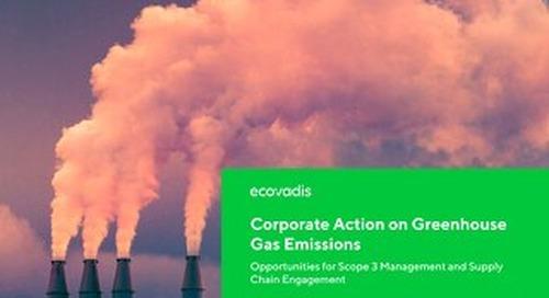 L'azione delle aziende sulle emissioni di gas serra