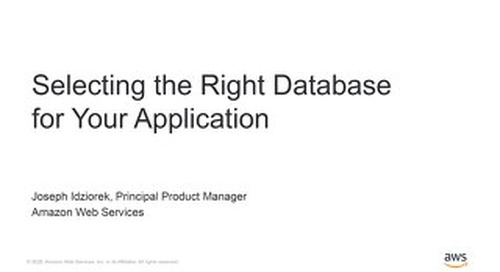 Build modern apps with purpose-built databases