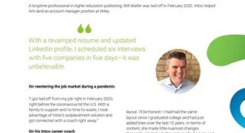 Intoo Candidate Success Story - Will Walter