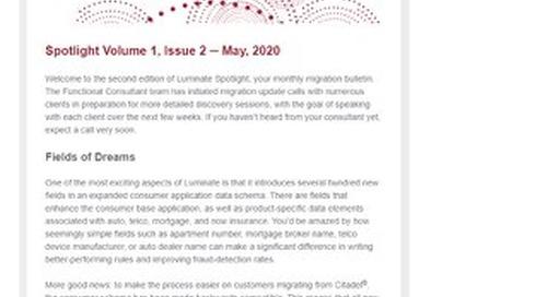 Spotlight Newsletter - May 2020