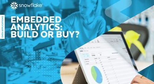 Embedded Analytics: Build or Buy?