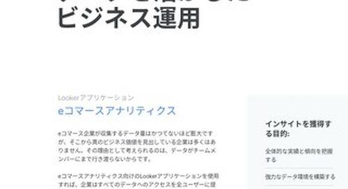 ホワイトペーパー:eコマースアナリティクス