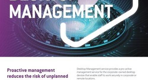 NS:GO Desktop Manangement 2020 Flyer