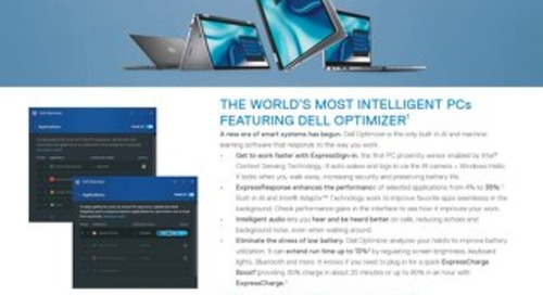 Innovations within the Dell Latitude Portfolio of Products