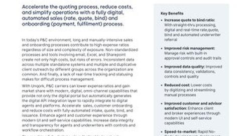 Solution Brief: P&C Insurance Digital Distribution