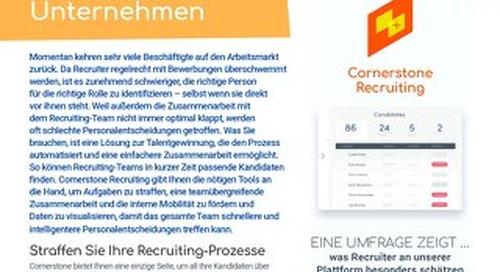 Datenblatt Recruiting