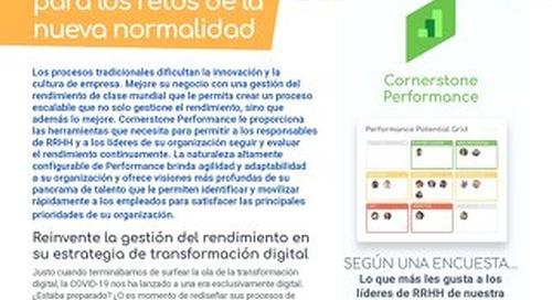 Performance: Una solución de rendimiento creada para los retos de la nueva normalidad