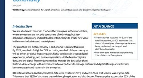 The Future of Data Exchange: Innovation for Continuity