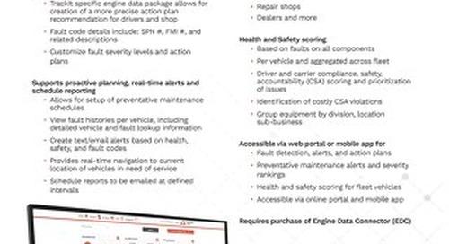TrackIt Engine Data Analysis Spec