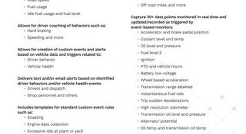 TrackIt Engine Data Sub Spec
