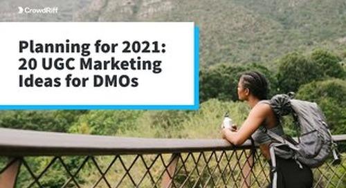 20 UGC Marketing Ideas for DMOs