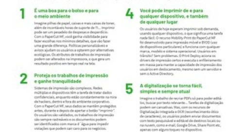 PaperCut MF Top10 Brazil