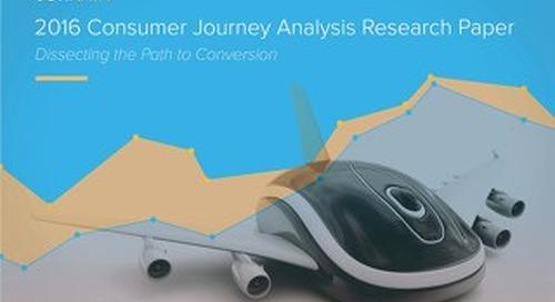 Jornaya's 2016 Consumer Journey Analysis