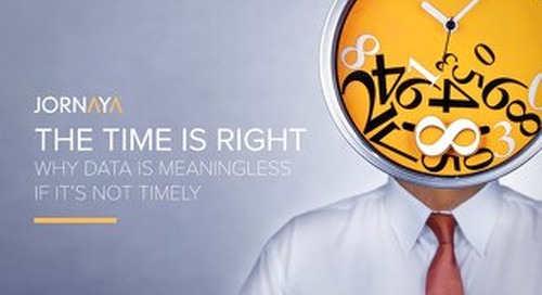 The Time is Right: Making the Most of Timely Data