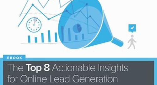 Top 8 Actionable Insights for Online Lead Generation