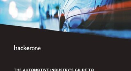The Automotive Industry's Guide To Reducing Risk With Responsible Disclosure