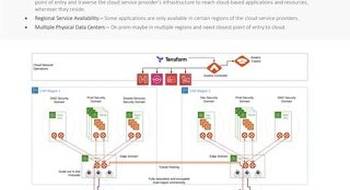 Multi-Region High-Availability Cloud Network Design Guide