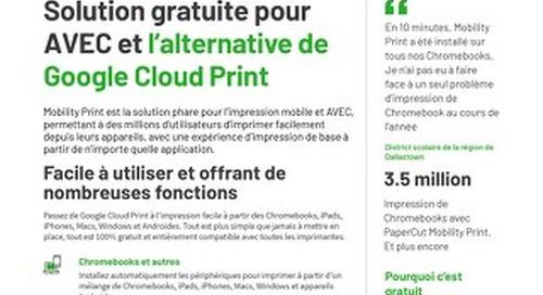 Papercut Mobility Print en Français