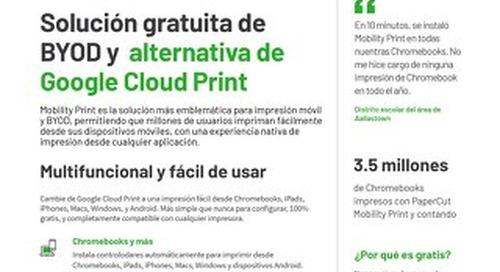Papercut Mobility Print en Español