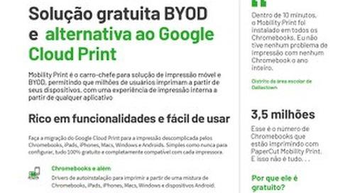 PaperCut Mobility Print Brazil