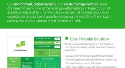 PaperCut Environmental