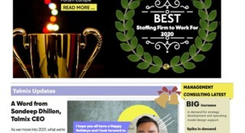 Management Consulting Newsletter (December)