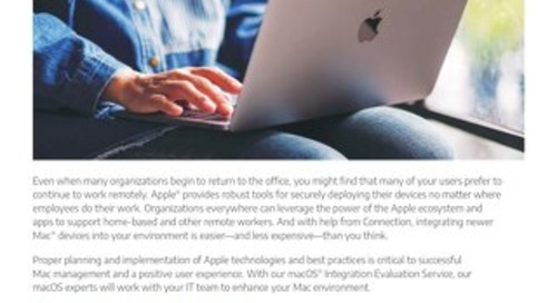 Work from Anywhere with Mac