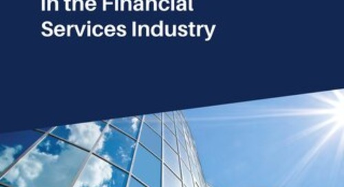 Cloud Adoption in the Financial Services Industry
