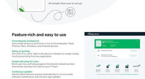PaperCut Mobility Print Customer Guide