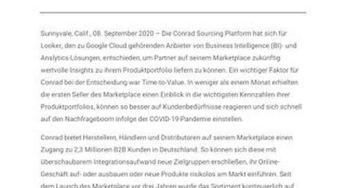 Conrad Electronic erweitert Zusammenarbeit mit Google Cloud für optimierte Kundenerlebnisse
