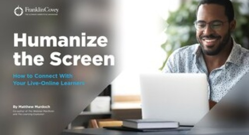 Humanize the Screen
