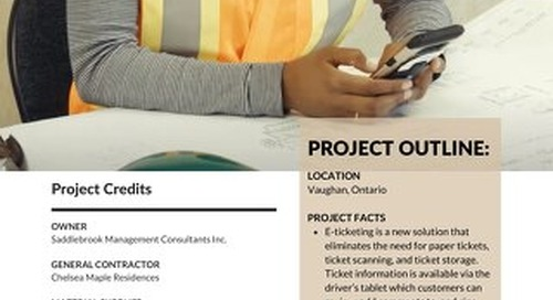 Dufferin Takes Home Ontario Concrete Award for Electronic Ticketing