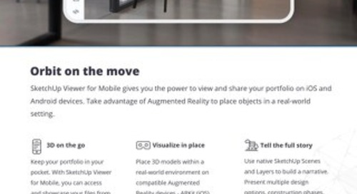SketchUp Mobile & Virtual Reality Viewers
