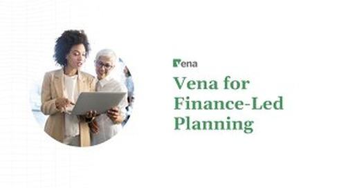Vena Solution Brief - Complete Planning - Finance-Led