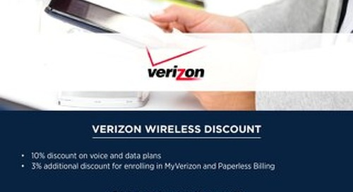 Associa Employee Verizon Perks