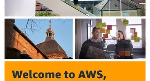 Welcome to AWS, Toulouse