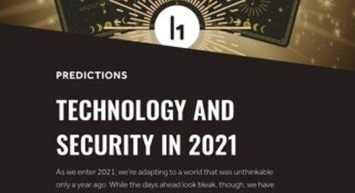 Technology And Security In 2021