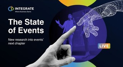 Integrate's The State of Events 2021 Research