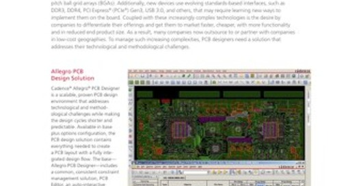 Allegro PCB Design Solution
