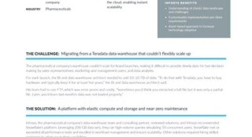 Infosys: Migrating from Teradata to the Cloud