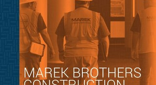 Customer Success Story: Marek Brothers Construction