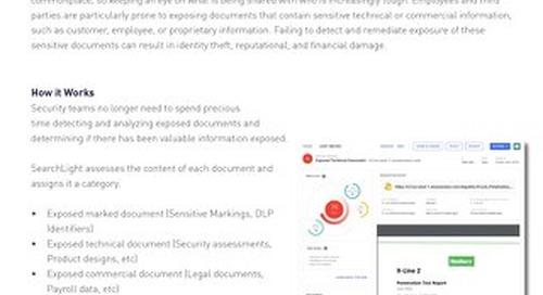 Exposed Document Datasheet