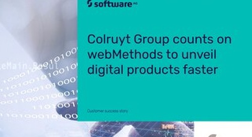 Colruyt Group unveils digital products faster with webMethods