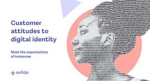 Customer Attitudes to Digital Identity