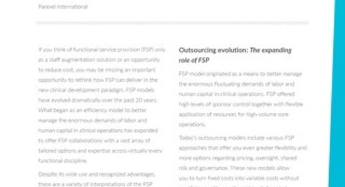 Is your FSP vision 2020?