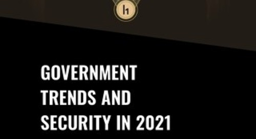 Government Trends And Security In 2021