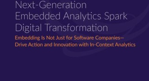 Next-Generation Embedded Analytics - Constellation Report