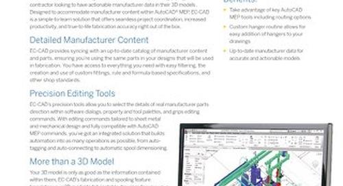 EC-CAD Datasheet