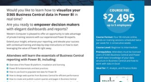 Power BI Fundamentals Training Course